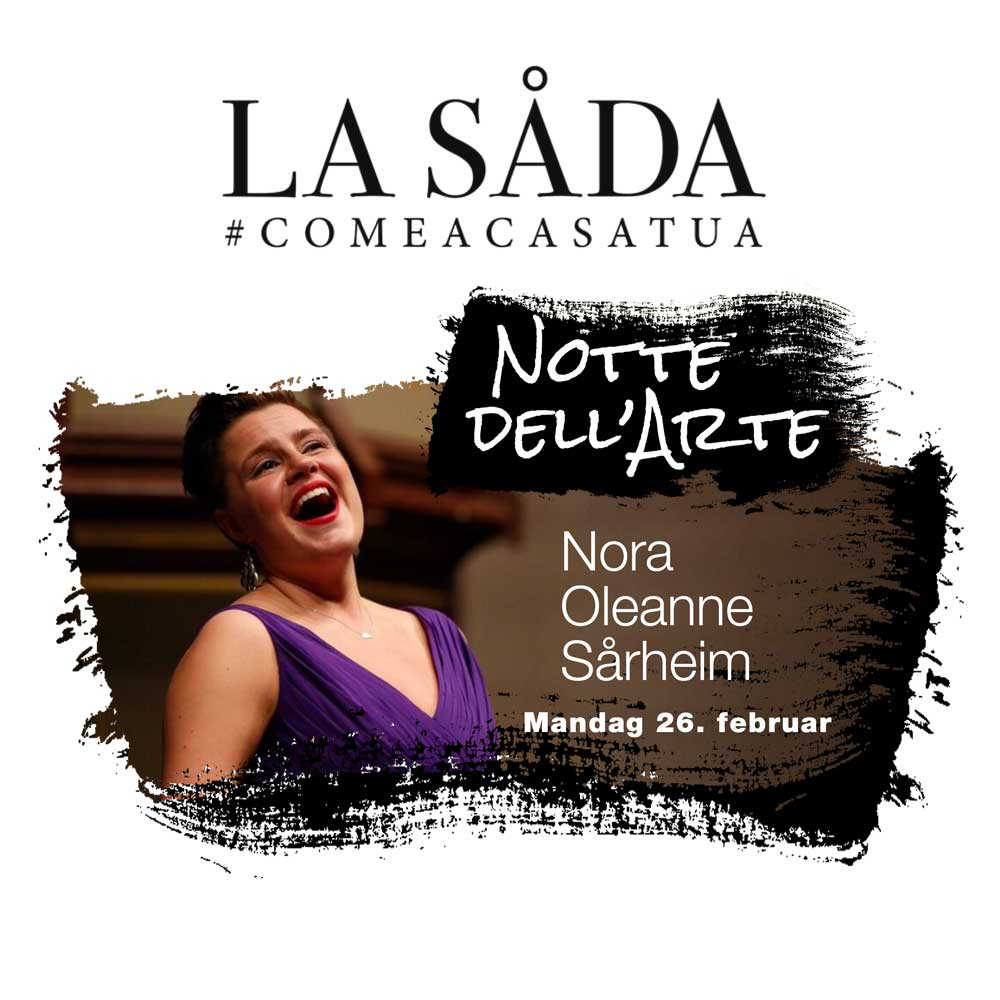 Operaaften med Nora Oleanne Sårheim på La Såda
